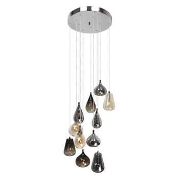 Home Collection Aria Glass Cluster Light (130 x 40cm)