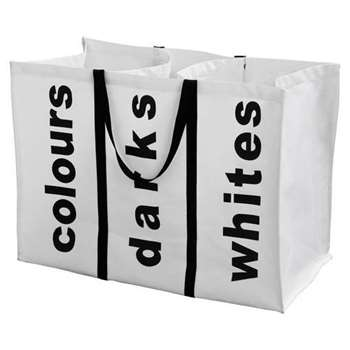 Argos Home 95 Litre Laundry Bag - White (H47 x W63 x D32cm)