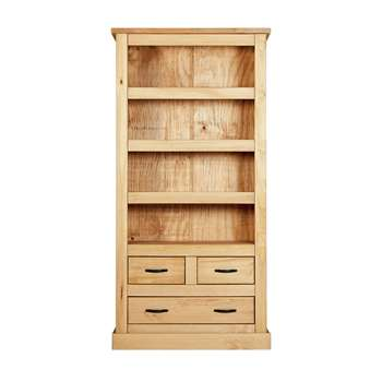 HOME San Diego Bookcase - Solid Pine 180 x 90cm