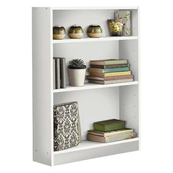 HOME Small Bookcase - White (82.5 x 65cm)