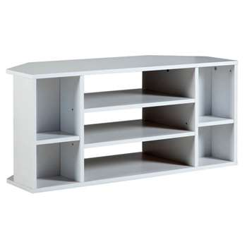HOME Suki Corner TV Unit - White
