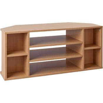 HOME Suki TV Unit - Beech Effect