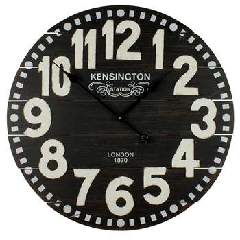 Hometime Board Wall Clock White (Diameter 60cm)