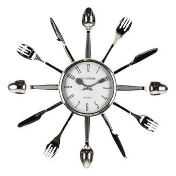 Hometime Cutlery Wall Clock (Diameter 33cm)