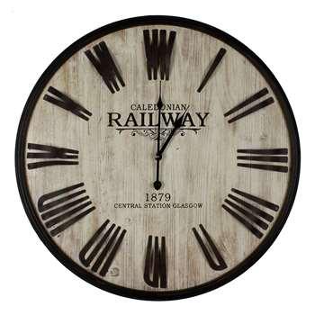 Hometime Wall Clock Railway (Diameter 60cm)