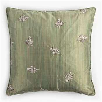 Honeysuckle Cushion - Moss (40 x 40cm)