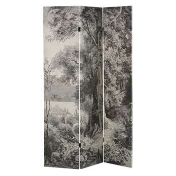 HONORINE Landscape Print Screen (H180 x W122 x D2.5cm)