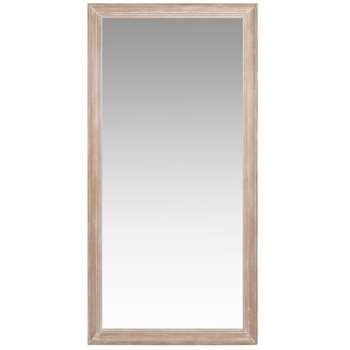 HONOROE - Bleached White Paulownia Mirror (H190 x W90 x D3.5cm)