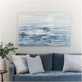 'Horizon' Acrylic on Canvas (H90 x W140cm)