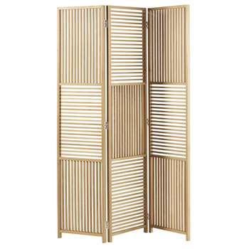 HORIZON Cut Out Oak Screen (H180 x W121.5 x D3cm)