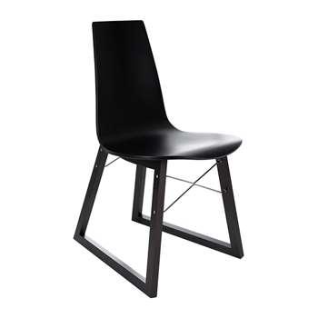 Horm & Casamania - Ray Chair - Beech & Black (H80 x W44 x D56cm)