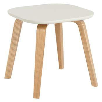 House by John Lewis Anton Small Side Table, Smoke (Width 40cm)