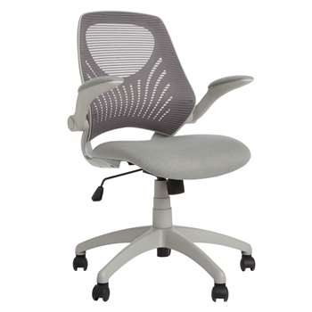 House by John Lewis Hinton Office Chair, Grey (92 x 56cm)