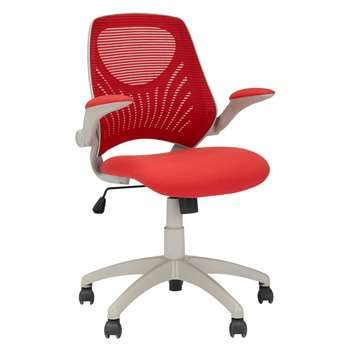 House by John Lewis Hinton Office Chair, Red (92 x 56cm)