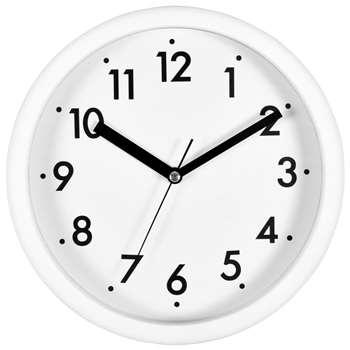 House by John Lewis Wall Clock, White (H20 x W20 x D4cm)