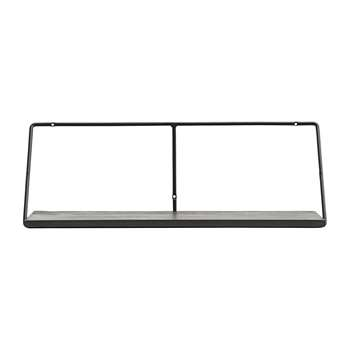 House Doctor - Wired Shelf - Black (H24.5 x W70 x D24cm)