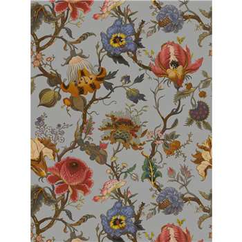 House of Hackney - Artemis Dove Grey Wallpaper (300 x 135cm)