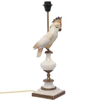 House of Hackney - Cockatoo Lamp Stand (45 x 14.7cm)