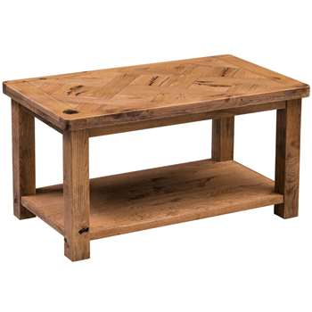 Huari Oak Coffee Table (H50 x W95 x D55cm)