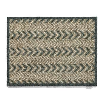 Hug Rug - Home/Garden Collection Door Mat - Dugdale 10 - Brown/Grey (65 x 85cm)