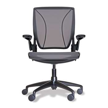 Humanscale - Diffrient World Office Chair - Black (90.5-102 x 66cm)