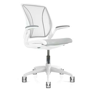 Humanscale Diffrient World Office Chair, White (93 x 66cm)