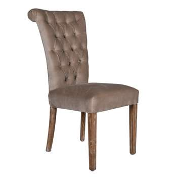 Hurlingham Dining Chair-Velvet (98 x 64cm)
