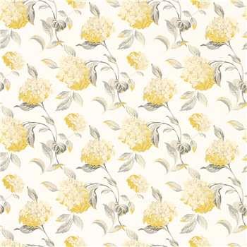 Hydrangea Camomile Floral Wallpaper