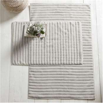 Hydrocotton Bath Mat, Pearl Grey (50 x 80m)