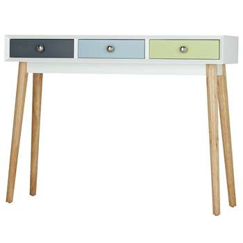 Hygena Lumina Console Table - Multicoloured 75 x 100cm