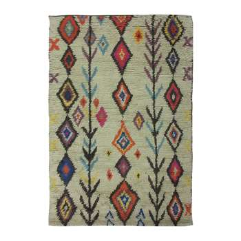 Ian Snow - Diamond/Arrow Wool Rug (H180 x W120cm)