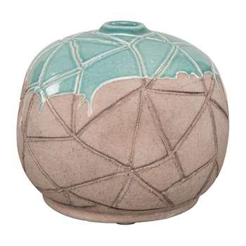 Ian Snow - Elemesre Clay Vase (H17 x W20 x D20cm)