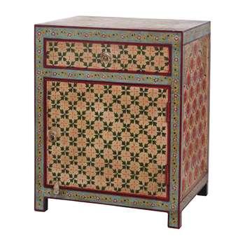Ian Snow - Highlander Hand Painted Cabinet (H66 x W53 x D40cm)
