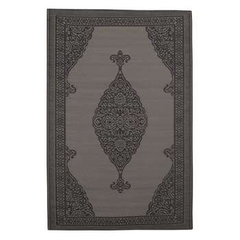 IBIZA polypropylene outdoor rug in grey (120 x 180cm)
