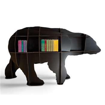 Ibride Bear Bookcase Junior - Black