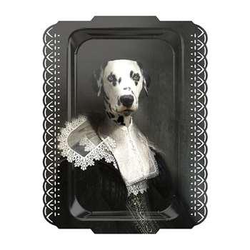 ibride - Galerie De Portraits - Rectangular Dalmation Tray - Sapho (59 x 42cm)