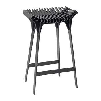 ibride - Grafite Stool - Black (H65 x W40 x D30cm)