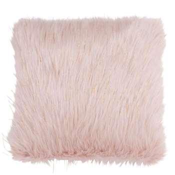 ICE - Pink Faux Fur Cushion Cover (H40 x W40cm)
