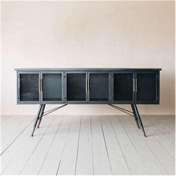 Ike Six Door Sideboard (H85 x W180 x D38cm)