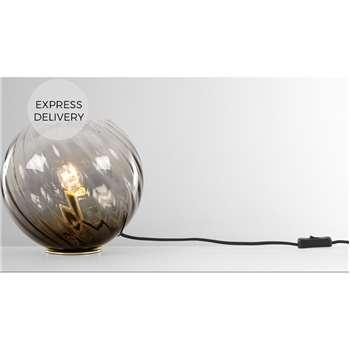 Ilaria Table Light, Dusky Olive (H23 x W25 x D25cm)