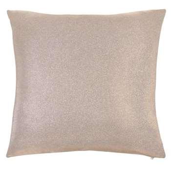 IMAN Pale Gold Sequinned Cushion (H40 x W40cm)