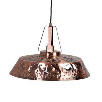 Industrial Ceiling Light in Copper Iron Finish (Diameter 45.5cm)