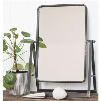 Industrial Dressing Table Mirror (H46 x W32 x D14cm)