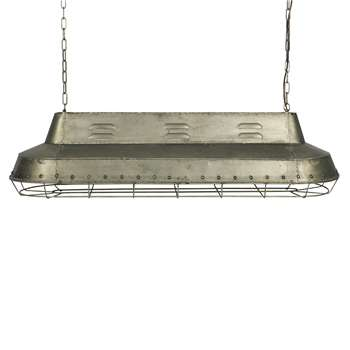 BePureHome Industrial Metal Ceiling Light (37 x 129.5cm)