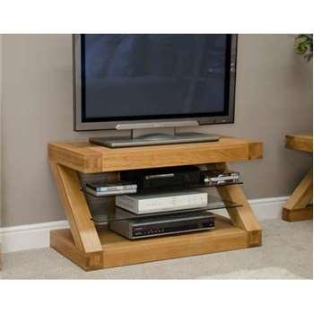 Infinity 90cm Solid Oak TV Unit (50 x 90cm)