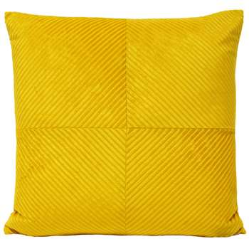 Infinity Cushion Mustard (H55 x W55cm)