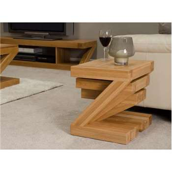 Infinity Solid Oak Nest of 3 Tables (47 x 51cm)