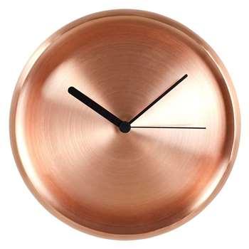 InternoItaliano - Turi Copper Clock (27 x 27cm)