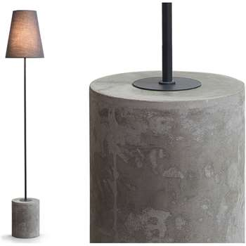 Ira Floor Lamp, Harrier Grey (145 x 18cm)