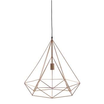 IRON COPPER metal pendant lamp D 60cm